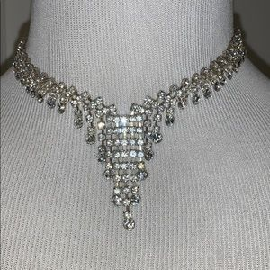 Jewelry - Beautiful vintage rhinestone choker